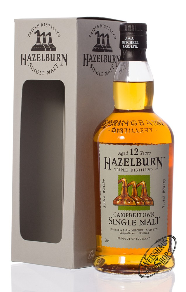 Springbank Hazelburn 12 YO Triple Distilled Whisky 46% vol. 0,70l
