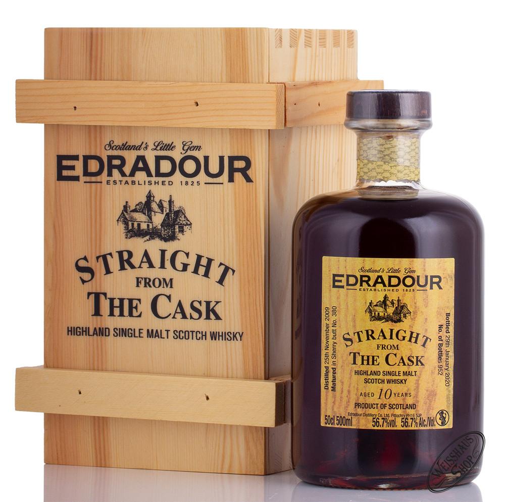 Edradour 2009 SFTC Sherry Cask Whisky 56,7% vol. 0,50l