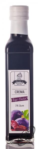 Grete's Feige-Dattel Gourmet-Crema 0,25l