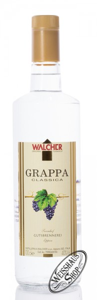 Walcher Grappa Classica 40% vol. 1,0l