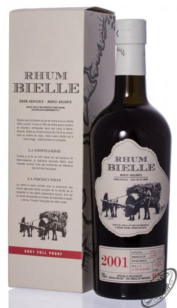 Rhum Bielle Agricole Vintage 2001 55,7% vol. 0,70l