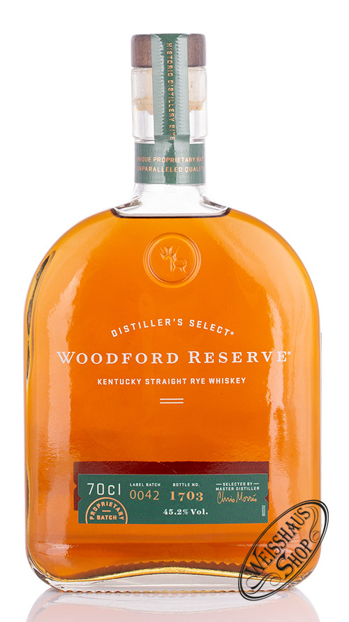 Woodford Reserve Rye Whiskey 45,2% vol. 0,70l