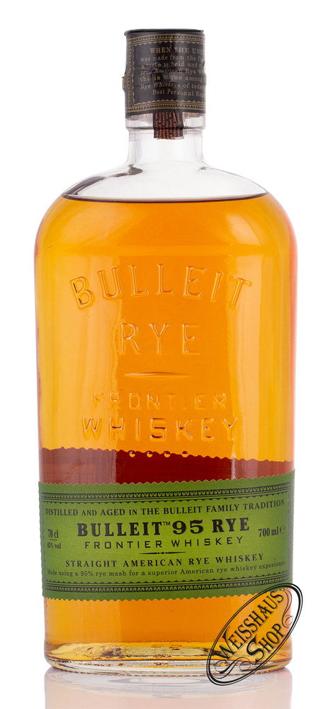 Bulleit Rye Whiskey 45% vol. 0,70l