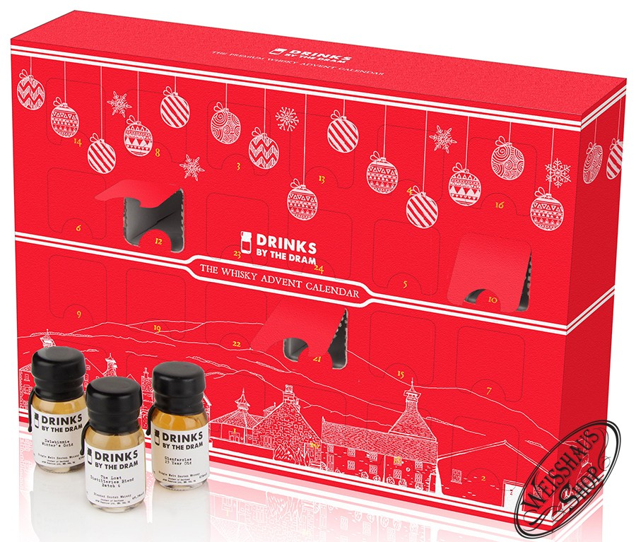 MOM Whisky Adventskalender 2015 40% vol. 0,72l