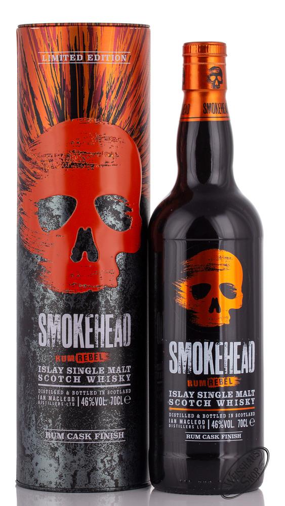 Smokehead Rum Rebel Islay Single Malt Whisky 46% vol. 0,70l