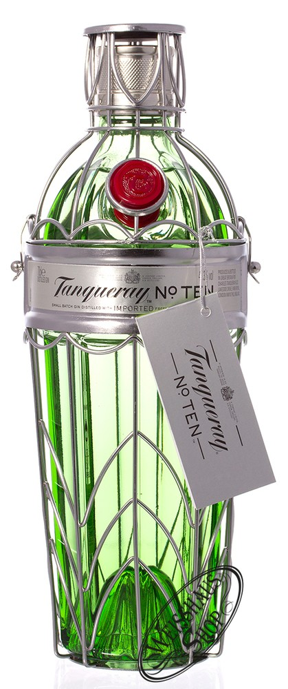 Tanqueray No. 10 Gin im K�fig 47,3% vol. 0,70l