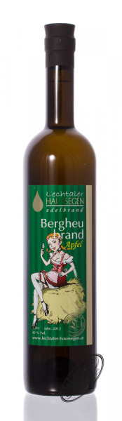 Lechtaler Haussegen Lechtaler Bergheubrand auf Apfel 42% vol. 1,50l