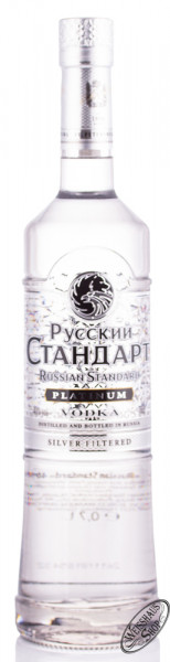 Russian Standard Platinum Vodka 40% vol. 0,70l