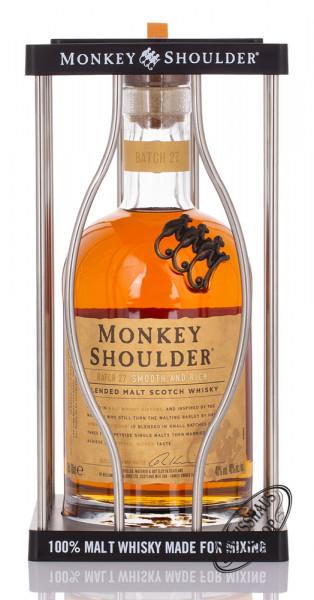 Monkey Shoulder Blended Whisky Geschenk-Set 40% vol. 0,70l