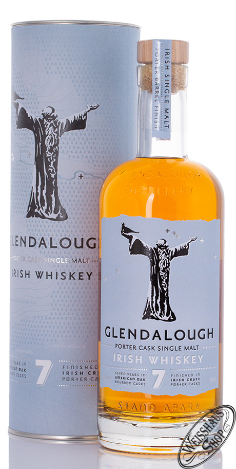 Glendalough 7 YO Irish Single Malt Whiskey 46% vol. 0,70l