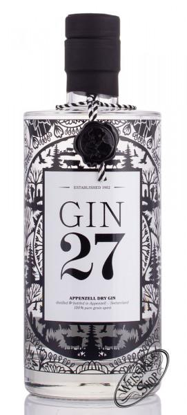 Gin 27 Appenzeller Dry Gin 43% vol. 0,70l