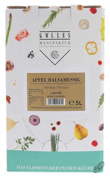 Gölles Apfel Balsam Essig 5,0l Bag in Box