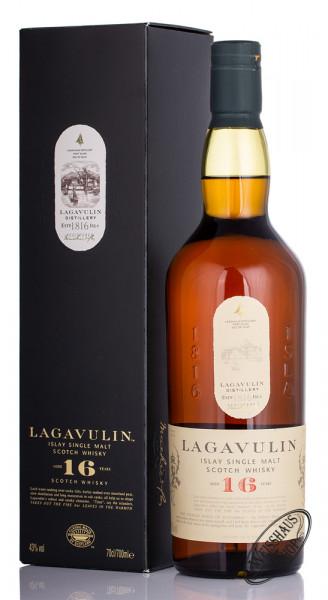 Lagavulin 16 Years Old Islay Single Malt Whisky 43% vol. 0,70l