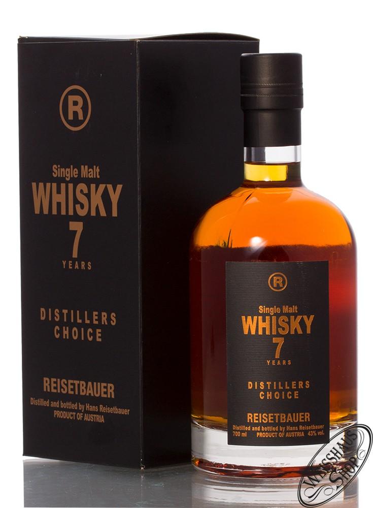 Reisetbauer 7 YO Distillers Choice Whisky 43% vol. 0,70l