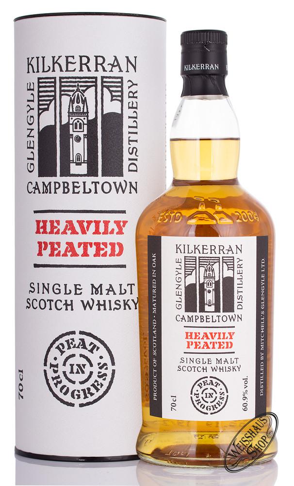 Kilkerran Heavily Peated Batch 2 Single Malt Whisky 60,9% vol. 0,70l