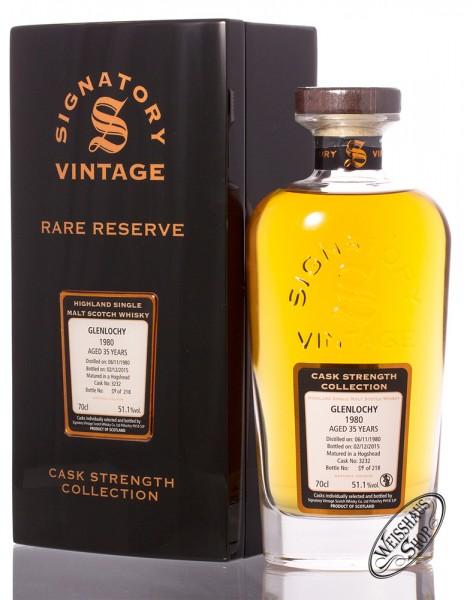 Glenlochy Vintage 1980 Signatory Rare Reserve Whisky 51,1% vol. 0,70l