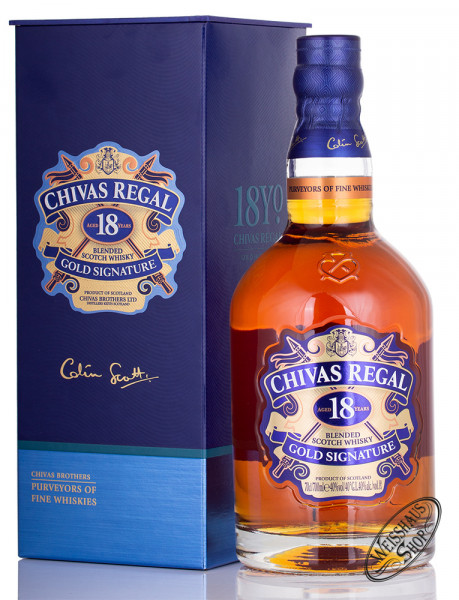 Chivas Regal 18 YO Blended Scotch Whisky 40% vol. 0,70l