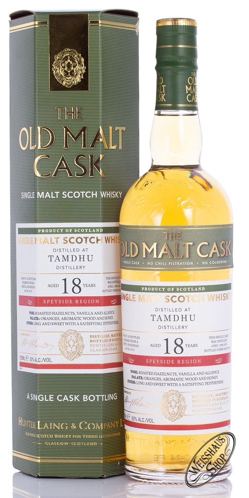 Tamdhu 18 YO Hunter Laing 1999 Whisky 50% vol. 0,70l