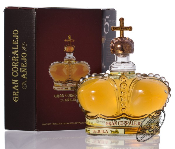 Corralejo Tequila Gran Corralejo Anejo 38% vol. 1,0l