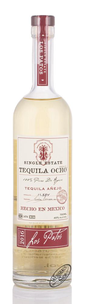 Tequila Ocho OCHO Los Patos Anejo Tequila 40% vol. 0,70l