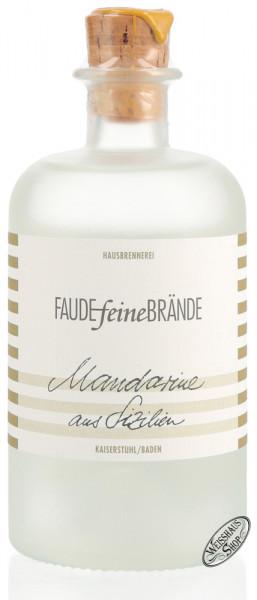 Faude feine Brände Mandarine aus Sizilien Geist 42% vol. 0,50l