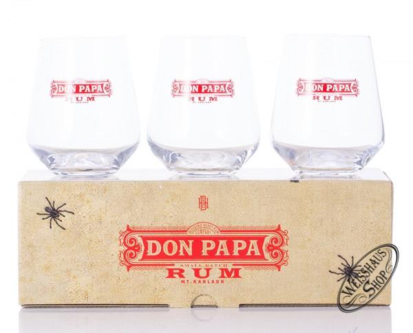 Don Papa Rum Tumbler - 3er Set