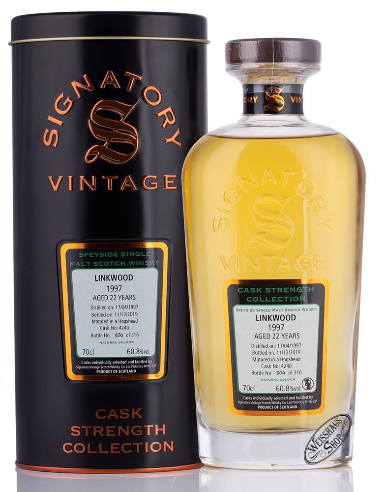 Linkwood Vintage 1997 Signatory Whisky 60,8% vol. 0,70l