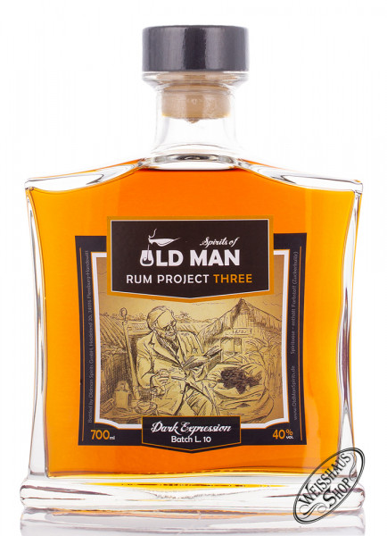 Old Man Dark Expression Spirit 40% vol. 0,70l
