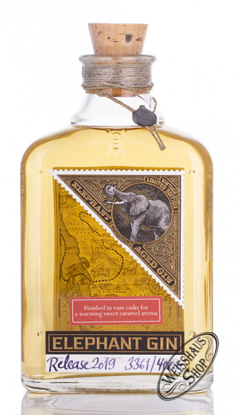 Elephant Aged Gin Limited Edition 52% vol. 0,50l