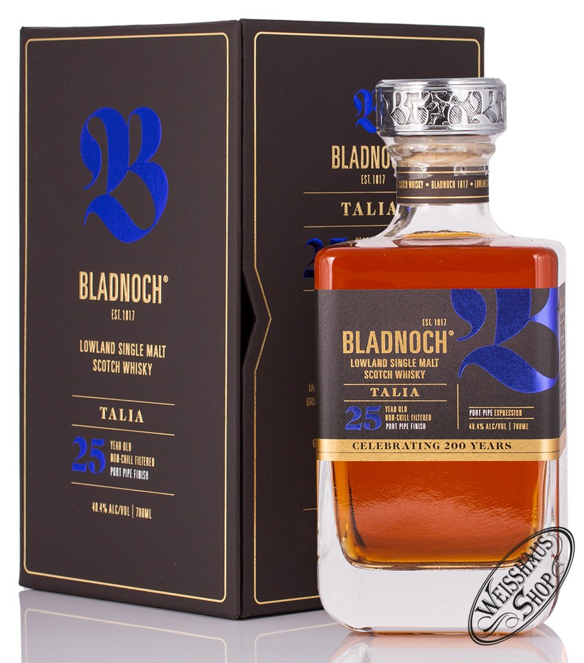Bladnoch Talia 25 YO Whisky 48,4% vol. 0,70l
