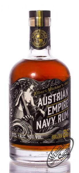 Austrian Empire Navy Rum Solera 25 YO 40% vol. 0,70l