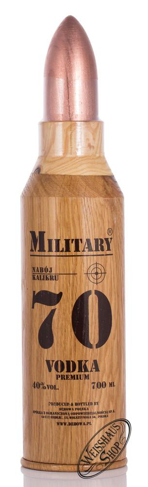 Debowa Military Vodka 40% vol. 0,70l