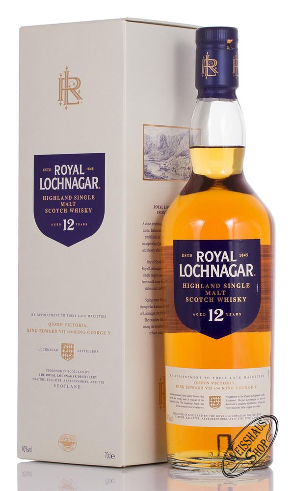 Royal Lochnagar 12 YO Single Malt Whisky 40% vol. 0,70l