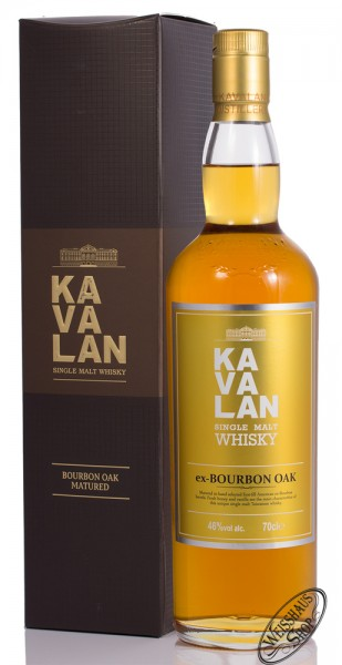 Kavalan ex-bourbon Oak Single Malt Whisky 46% vol. 0,70l