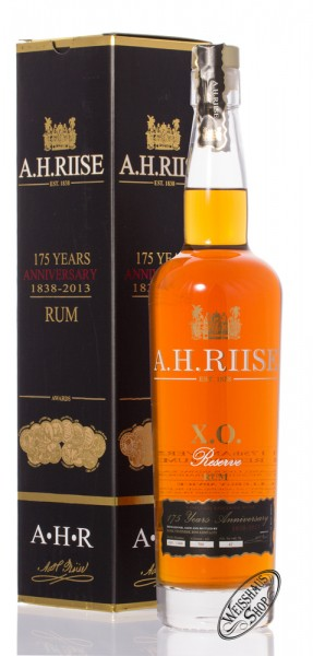A.H. Riise XO Reserve 175 YO Anniversary Limited Edition Rum 42% vol. 0,70l