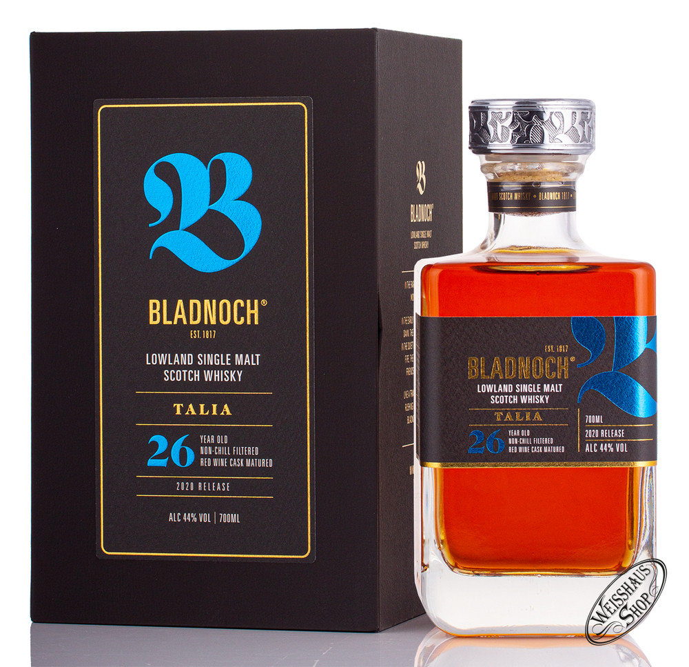 Bladnoch Talia 26 YO Whisky 44% vol. 0,70l