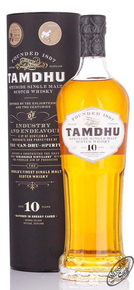 Tamdhu 10 YO Single Malt Whisky 40% vol. 0,70l