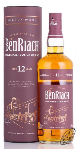BenRiach 12 YO Sherry Wood Finished Whisky 46% vol. 0,70l