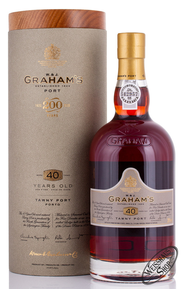 Graham's 40 YO Tawny Port 20% vol. 0,75l