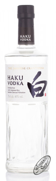 Haku Vodka 40% vol. 0,70l