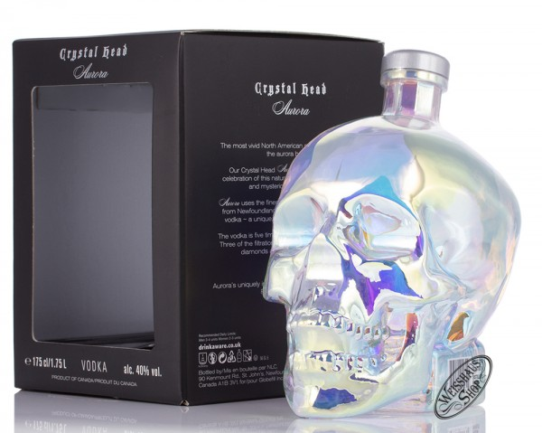 Crystal Head Vodka Aurora 40% vol. 1,75l