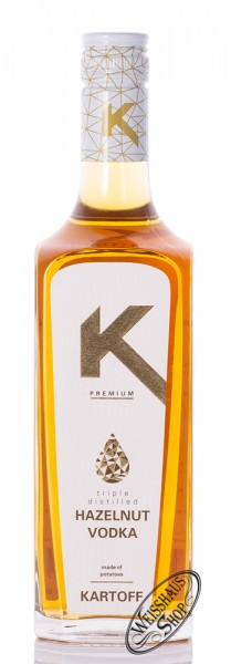 Kartoff Hazelnut Vodka 38% vol. 0,70l