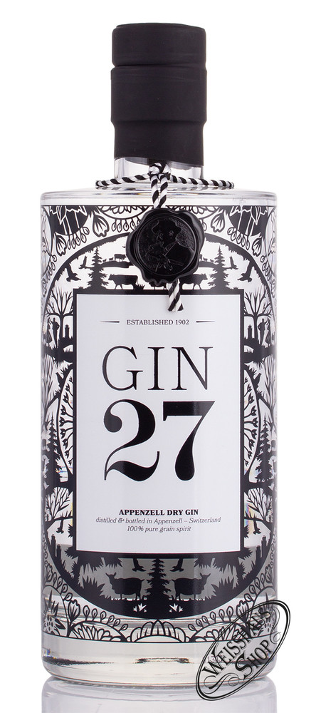 Gin 27 Appenzeller Dry Gin 43% vol. 0,70l