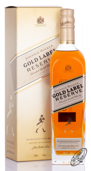 Johnnie Walker Gold Label Reserve Blended Scotch Whisky 40% vol. 0,70l