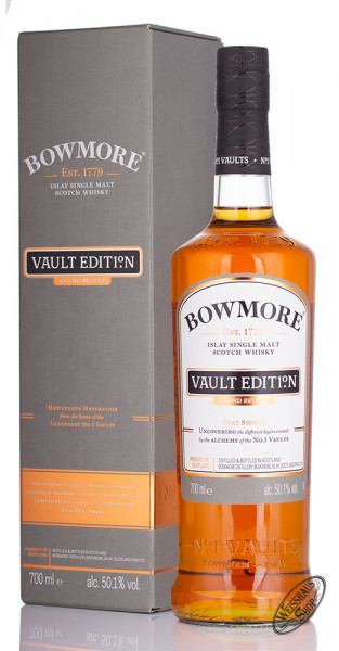 Bowmore Vault Edition Second Release Whisky 50,1% vol. 0,70l