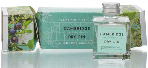 Cambridge Dry Gin Christmas Cracker Geschenk-Set 42% vol. 0,05l