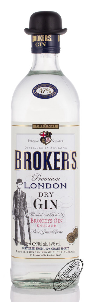 Broker's Gin Ltd Broker's London Dry Gin 47% vol. 0,70l