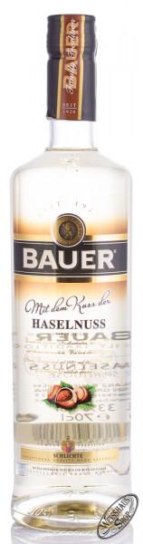 Bauer Kuss der Haselnuss 33% vol. 0,70l