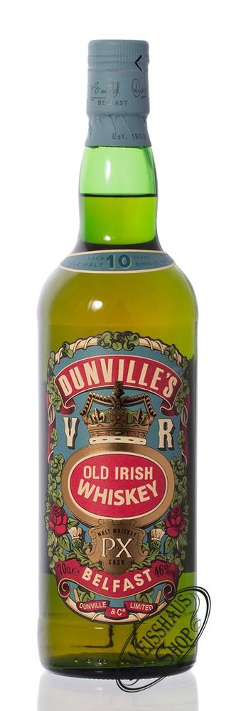 Dunville's 10 YO PX Finish Irish Whiskey 46% vol. 0,70l