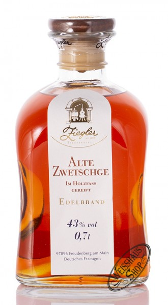 Ziegler Alte Zwetschge Brand 43% vol. 0,70l